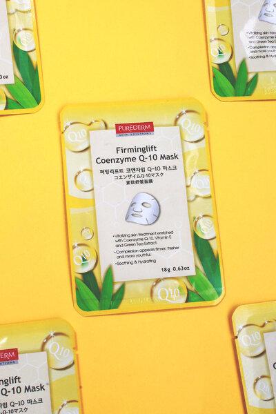 Purederm Máscara Rejuvenescedora Firming Lift Coenzyme Q-10 18g