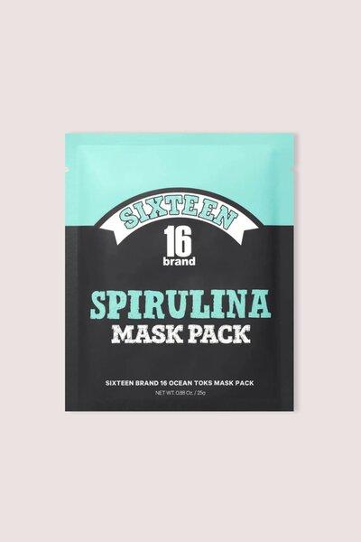 16 Brand Máscara Facail de Espirulina 25g