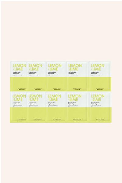Kit 10 Boom De Ah Dah Máscara Facial de Limão 25g