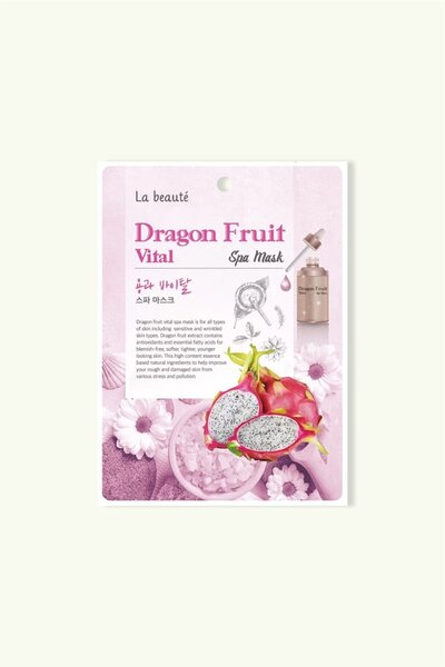 La beaute' Máscara Facial Spa Dragon Fruit Vital 25g