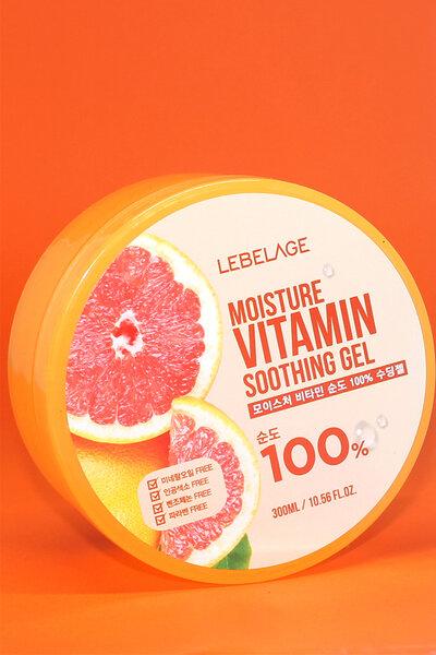 Lebelage 100% Gel Hidratante de Vitamina 300ml