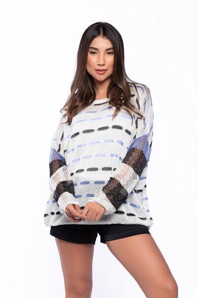 Blusa tricot lurex