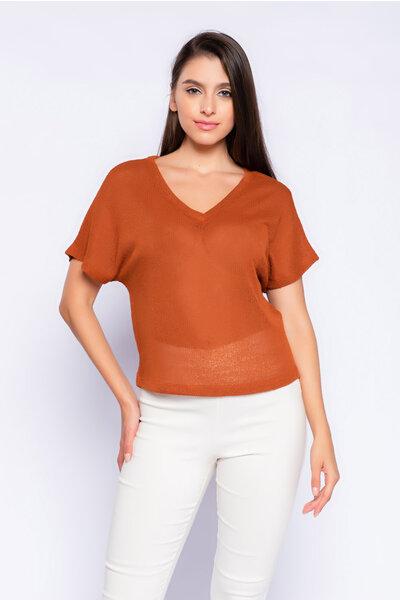 Camiseta tricot lisa