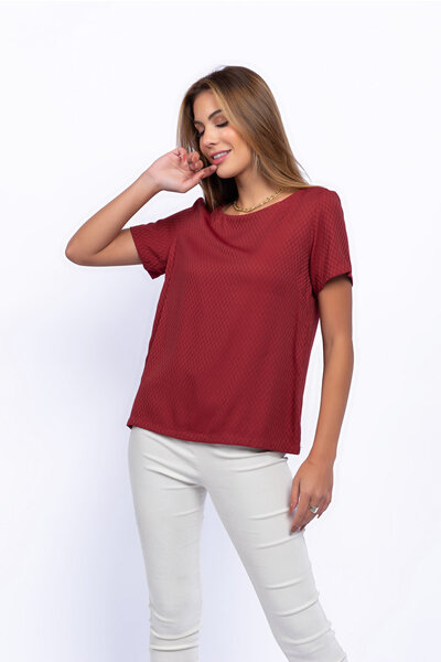 T-shirts viscose basica