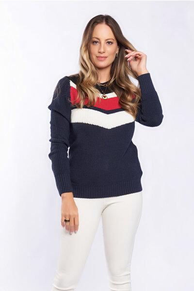 Blusa tricot ponto grosso river