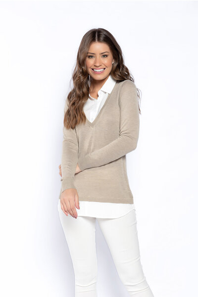 Camisa sueter tricot