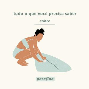 Guia de parafinas para o surf