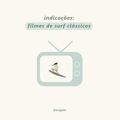 14 indicações de filmes de surf clássico