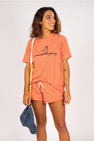 short carioca laranja
