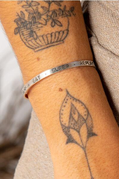 bracelete surf | prata | atelier maresia
