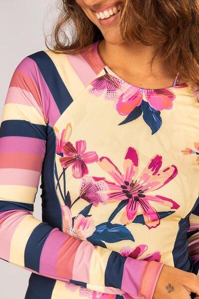 blusa com manga arpoador