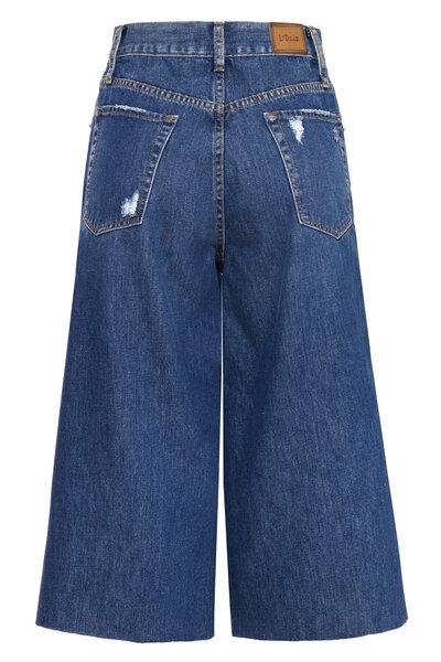 Bermuda City Jeans Escuro