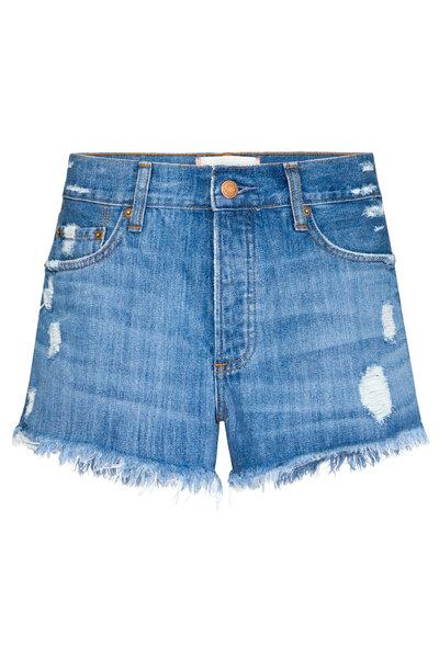 Short Urban Jeans Escuro
