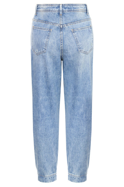 Calça Haren Elástico Jeans Claro