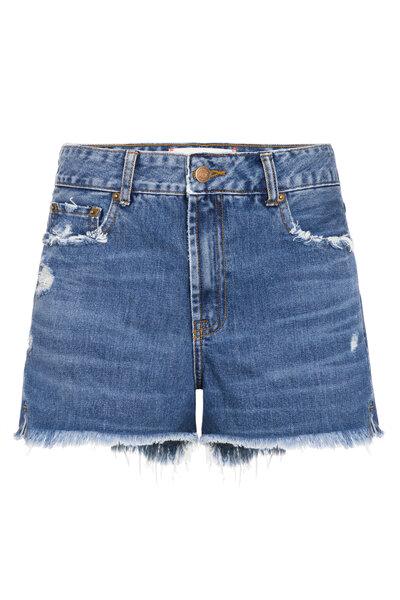 Short Friends Jeans Escuro