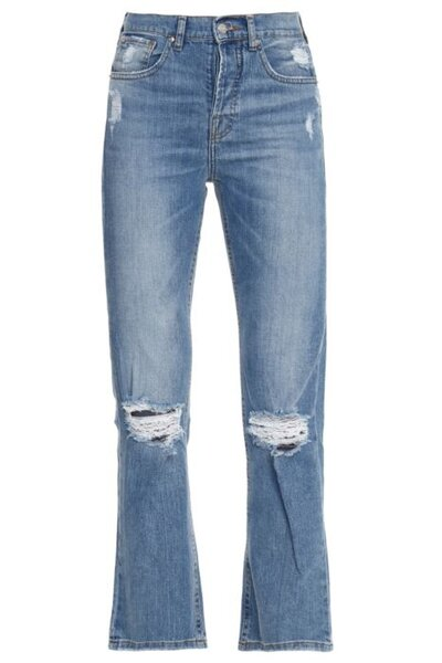 Calça Cropped Hanna Jeans Claro