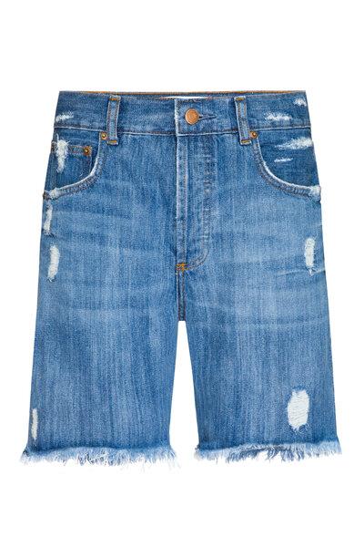 Bermuda Jeans Escuro