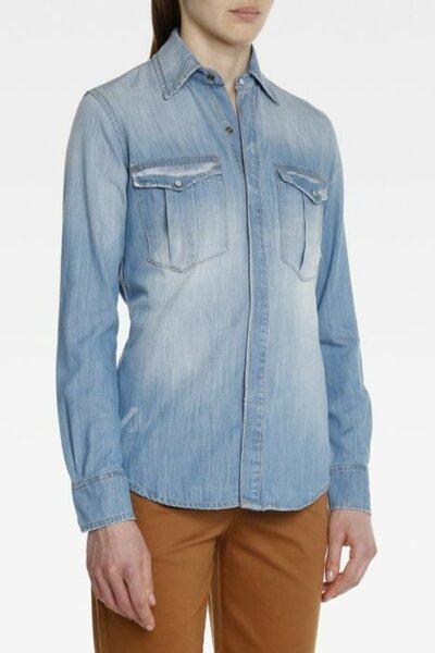 Camisa Bruna Jeans Claro