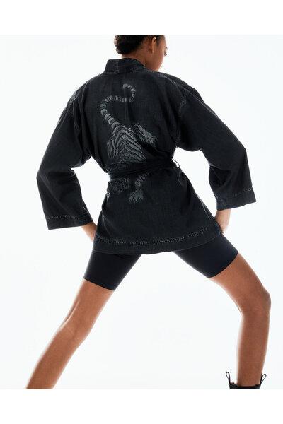Kimono Black Tiger