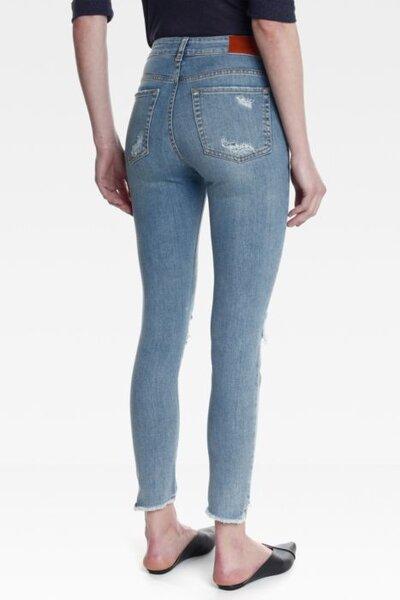 Calça Skinny Sara Jeans Claro