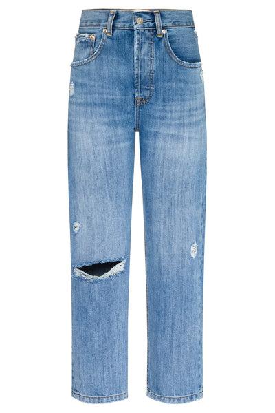 Calça Boyfriend Jeans Vintage