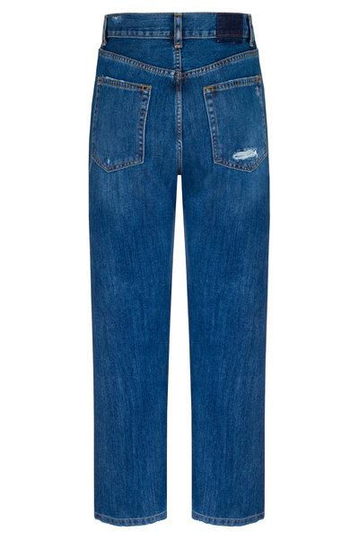Calça Boyfriend Jeans Escuro