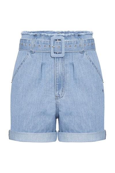 Short Cinto Jeans