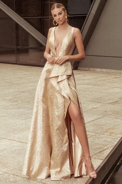 Vestido longo Keyla