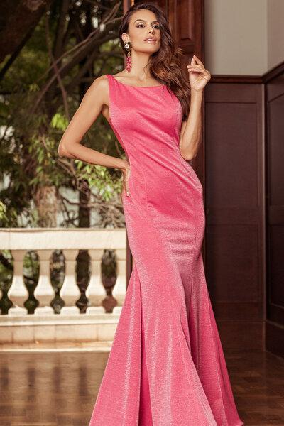 Vestido longo Phoebe