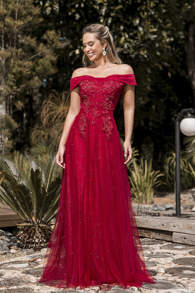 Vestido longo Epiphany
