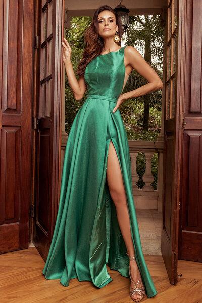 Vestido longo Belinda