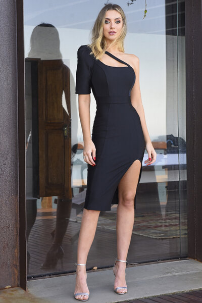 Vestido midi ticiane