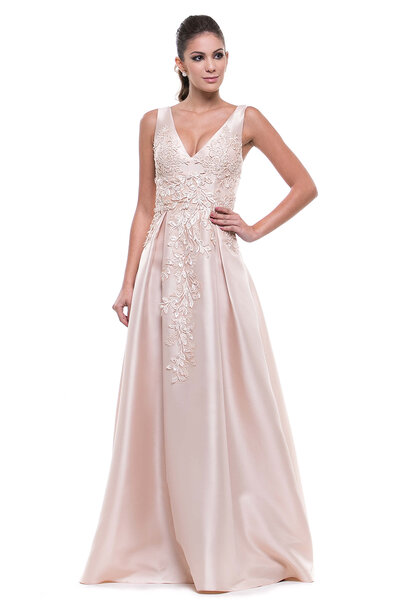 Vestido longo Eclat
