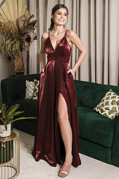 Vestido longo aimee