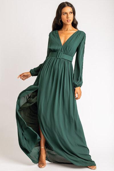 Vestido longo alicia