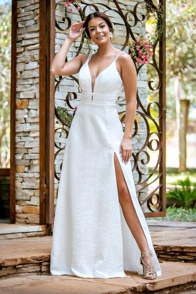 Vestido longo ciara