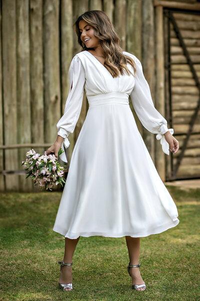 Vestido midi meredith