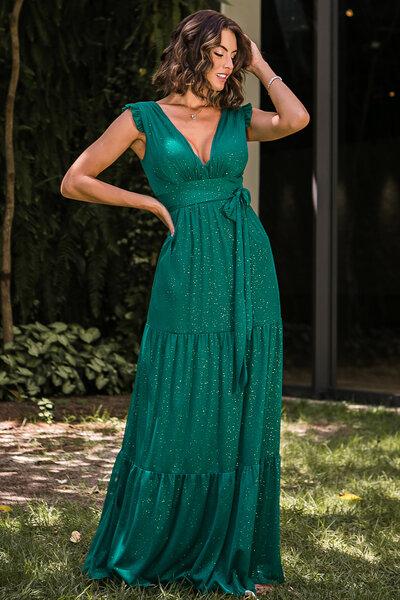 Vestido longo carlota