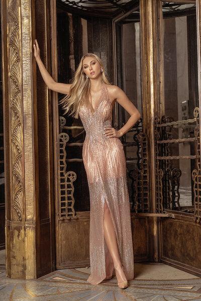 Vestido longo Aura