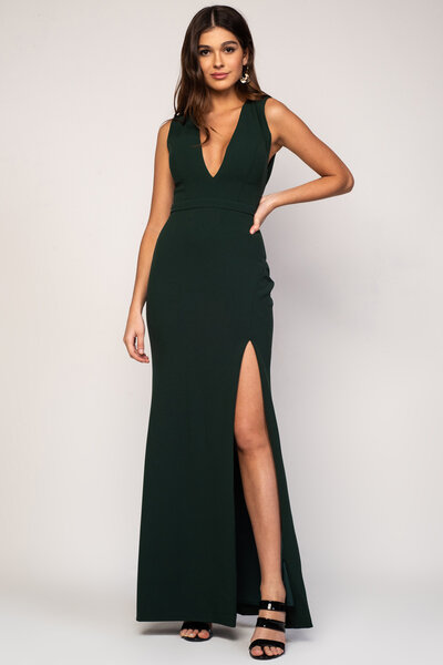 Vestido longo aine