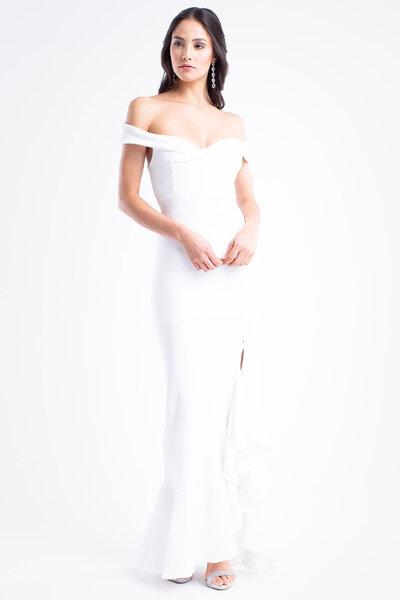 Vestido longo angelina