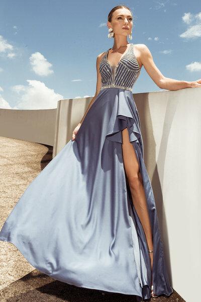 Vestido longo irelia