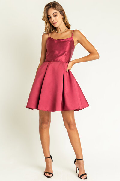 Vestido curto roseanne