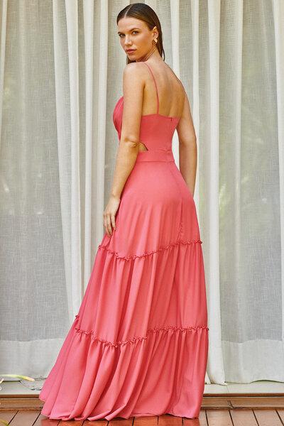 Vestido longo helena