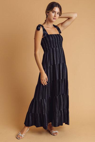Vestido longo ivana