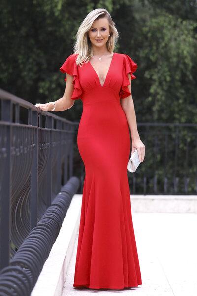 Vestido longo oprah