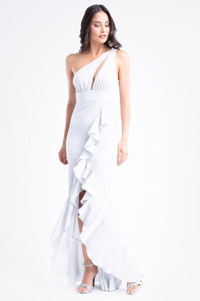 Vestido longo romana