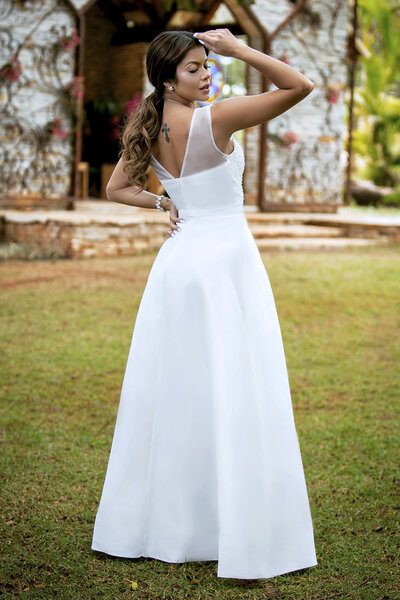 Vestido longo angel