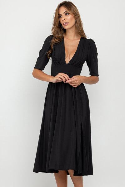 Vestido midi liana