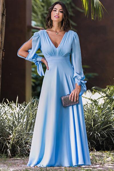 Vestido longo meredith